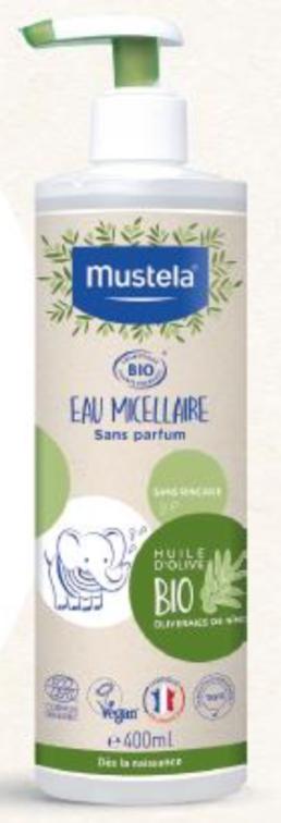 Mustela agua micelar BIO